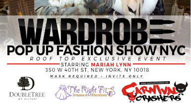 Warchyld and VH1's Mariahlynn Host Fashion Show in Time Square